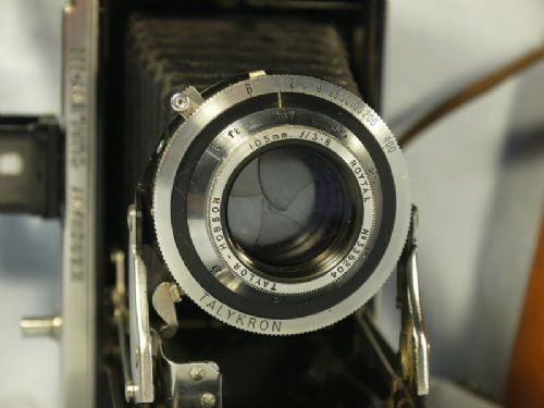 '          Curlew III CAMERA C/W Taylor Hobson 105mm LENS-' Kershaw Curlew III Folding Vintage Camera c/w Taylor Hobson 105mm =VERY RARE=NICE= £449.99